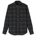 muji_botton down ls check shirts_2010.jpg